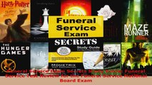 Read  Funeral Service Exam Secrets Study Guide Funeral Service Test Review for the Funeral Ebook Free