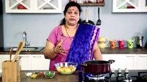 Batata Kachrya Bhaji - Maharashtrian Recipe by Archana - Dry Aloo Sabzi - Easy MainCourse in Marathi