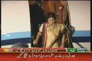 This is How Sushma Swaraj got Welcomed in Pakistan Today - Exclusive Video