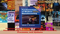 Read  Fundamentals of Modern Manufacturing with Manufacturing Processes Sampler DVD Materials Ebook Online