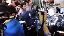 Llegada de Tigres a Monterrey, todo un caos