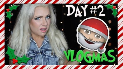 I ALMOST LOST EVERYTHING - VLOGMAS DAY 2 and 3.