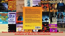 Download  BurnIn An Engineering Approach to the Design and Analysis of BurnIn Procedures PDF Free