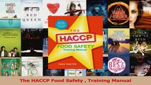 Download  The HACCP Food Safety  Training Manual Ebook Online