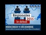 Débat du second second tour des élections régionales sur France Bleu en Bourgogne-Franche-Comté