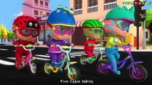 Five Little Babies Cycling On The Street _ Videogyan 3D Rhymes _ Baby Songs And Nursery Rhymes