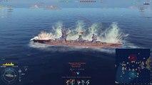 World of Warships - Captains Academy Episode 3 - Battleships and Manual Torp Drop(繁中字幕)