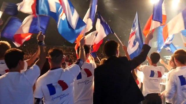 Live Meeting national de Marine Le Pen à Paris jeudi 10 à 20h00