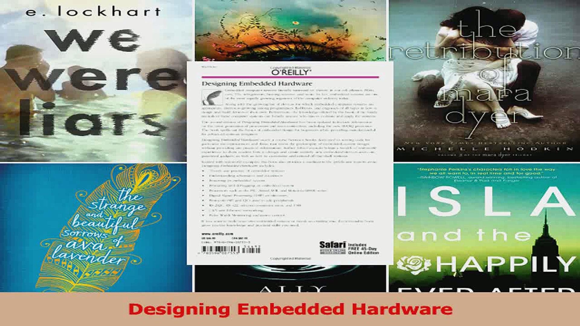 Read  Designing Embedded Hardware Ebook Free