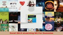 Download  Excel 2013 eLearning Kit For Dummies PDF Online