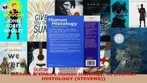 Stevens  Lowes Human Histology 4e HUMAN HISTOLOGY STEVENS Download
