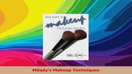 Miladys Makeup Techniques PDF