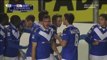 1-0 Alexandre Geijo Goal Italy  Serie B - 08.12.2015, Brescia Calcio 1-0 Pescara Calcio
