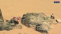 Belle-ile en mer - Bodyboard plage de Donnant - TVBI Belle-ile en mer 24/7