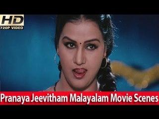 Romantic Scene From - Malayalam Movie - Pranayajeevitham [HD]