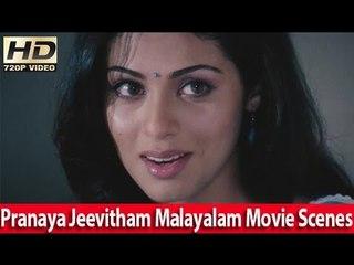 Sadha Romantic Scene From Malayalam Movie - Pranayajeevitham [HD]