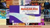 Read  Beginning AutoCAD r13 for Windows Ebook Free