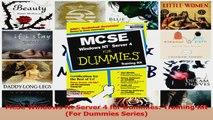 Download  McSe Windows Nt Server 4 for Dummies Training Kit For Dummies Series PDF Online