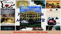 PDF Download  Burnout to Balance EMS Stress PDF Online