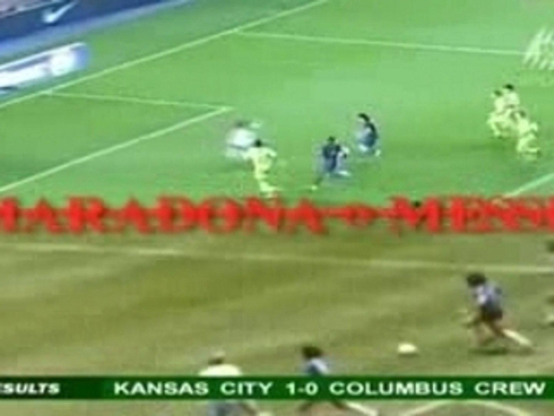 Maradona & Messi Comparison