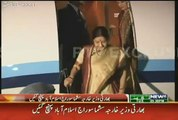 This is How Sushma Swaraj got Welcomed in Pakistan Today