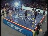 01 Billy Boy, Jennifer Blake & Tigre Cota vs. Laredo Kid, Mari Apache & Super Fly
