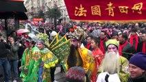 Nouvel An Chinois dans le Marais. Paris/France - 20 Février 2014
