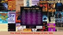 Download  The Most Requested Songs of the 80s EBooks Online