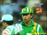 SAEED ANWAR made Match Winning 104 VS INDIA In Sharjah