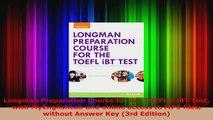 P D F] Longman Preparation Course for the TOEFL (R) iBT Test