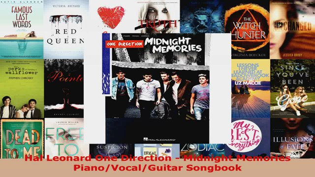 Read  Hal Leonard One Direction  Midnight Memories PianoVocalGuitar Songbook PDF Free