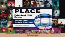 Download  PLACE Principal 80 Exam Flashcard Study System PLACE Test Practice Questions  Exam EBooks Online