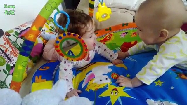 Funny Twin Babies Laughing Compilation 2015 [NEW HD]