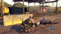 Metal Gear Solid 5 Phantom Pain Walkthrough Gameplay Part 15 Footprints (MGS5)