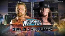 Wrestlemania 28 - The Undertaker vs Triple H