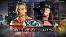 Wrestlemania 28 - The Undertaker vs Triple H