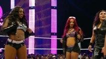 The Bella Twins & Alicia Fox vs Naomi Sasha Banks & Tamina