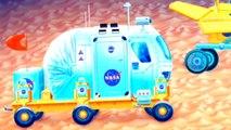 Çizgi Film Uzay Araçları Robotik Ay Arabası Lunar Electronic Rover ( LER )