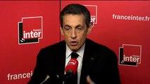 """Nicolas Sarkozy : """"Ce débat sur la ligne (politique) n'a aucun sens"""""""