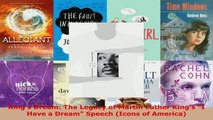 Read  Kings Dream The Legacy of Martin Luther Kings I Have a Dream Speech Icons of America Ebook Free