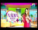 Nadia khan Show on Geo - 9th December 2015 - Part 1 - Muhammad Qavi