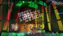 Brie Bella (w/ Alicia Fox) vs. Becky Lynch (w/ Charlotte)