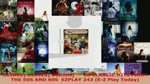 Download  OLIDES OLDIES OLDIES      38 CLASSIC HITS FROM THE 50S AND 60S  EZPLAY 243 EZ Play EBooks Online