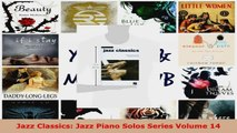 Read  Jazz Classics Jazz Piano Solos Series Volume 14 Ebook Free
