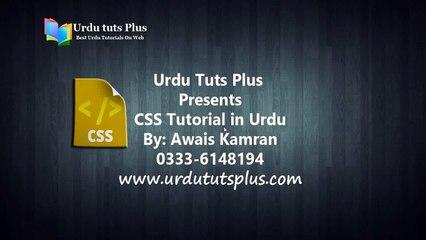 Learn Complete CSS in Urdu 6/75