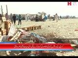 Karachi Clifton Beach News - HTV