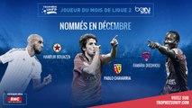 Ligue 2 / Trophées UNFP - Joueurs du mois : Les nommés sont ...