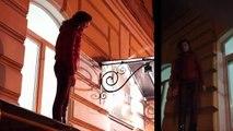 """Олег Мальцев. Журналистка залезла на """"козырек"""" магазина чтобы заглядывать в окна"""