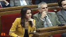 Carles Puigdemont  a Inés Arrimadas