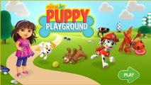 Nick Jr Puppy Playground - PAW Patrol Dora the Explorer Bubble Guppies Cartoons Games